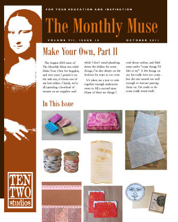 October – Make Your Own, Part II