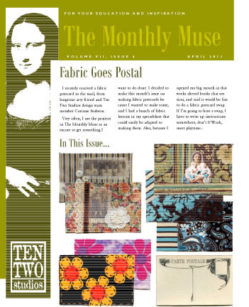 April – Fabric Goes Postal