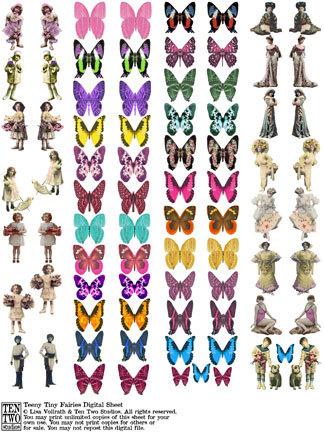 Teeny Tiny Fairies