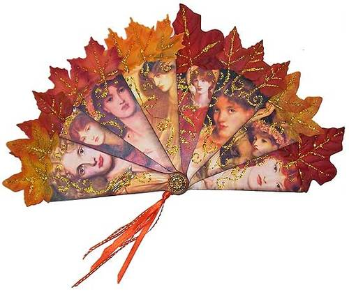 Rossetti Fire Fan