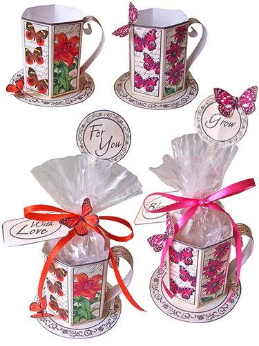 Garden Tea Cup Set