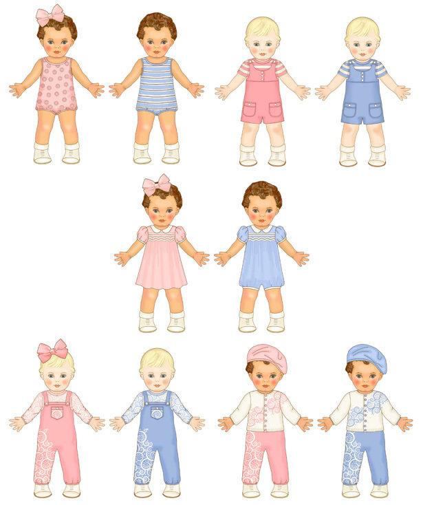 Twins Pink & Blue Add-On Sheet