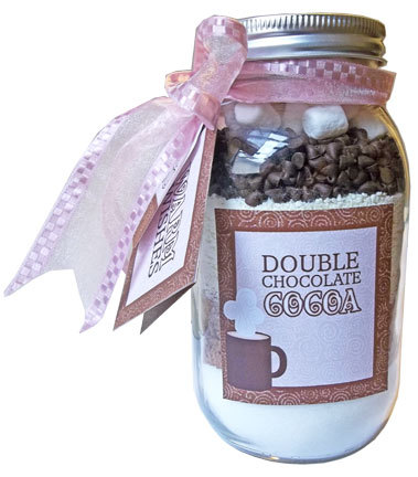 Double Chocolate Cocoa Jars