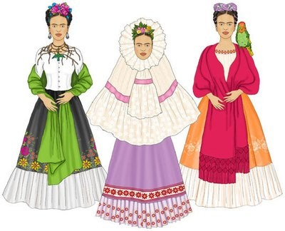 Frida Paper Doll Set