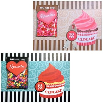 Sprinkles to My Cupcake Card