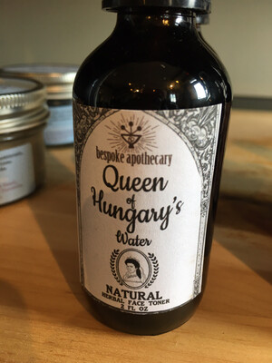 Queen of Hungary's Water - Herbal Face Toner