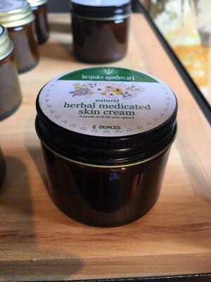 2 oz Medicated Skin Cream - formulated for eczema