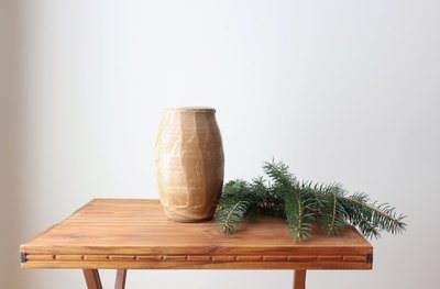 Barley Carved Vase (online only)