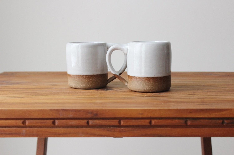 Espresso Mug in Stoneware White