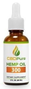 CBDPure Hemp Oil 300