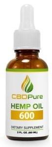 CBDPure Hemp Oil 600
