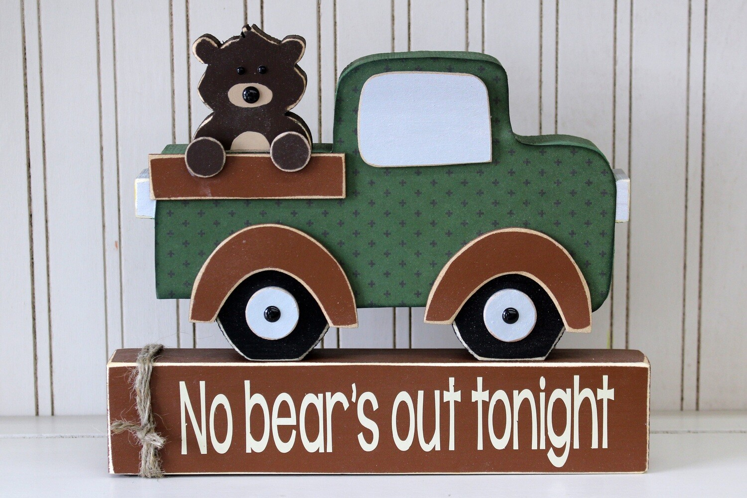 No Bear's Out Truck