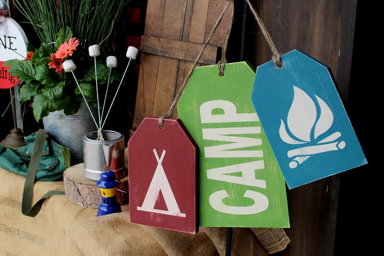 Hanging Camping Tags