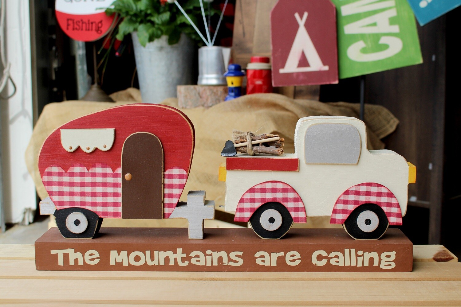Mountains Are Calling Truck