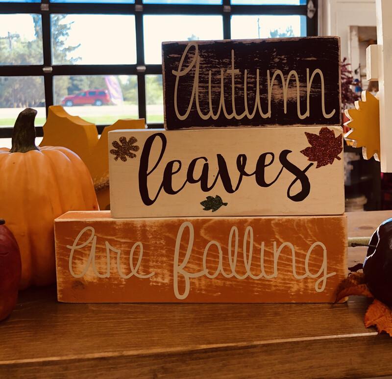 Fall Simple Blocks