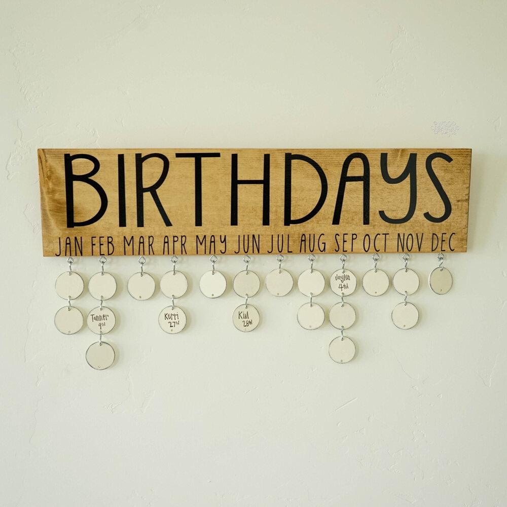 Birthday Board Hanging