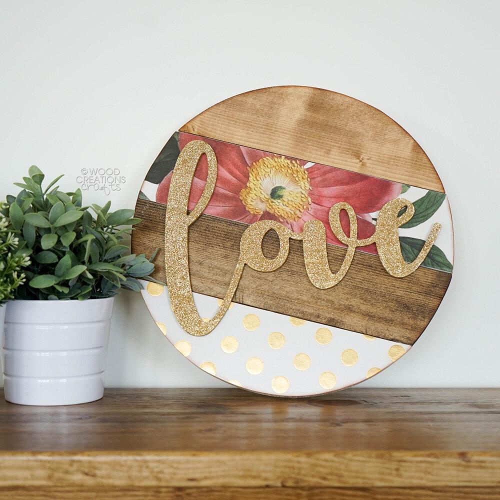 Love Slat Circle