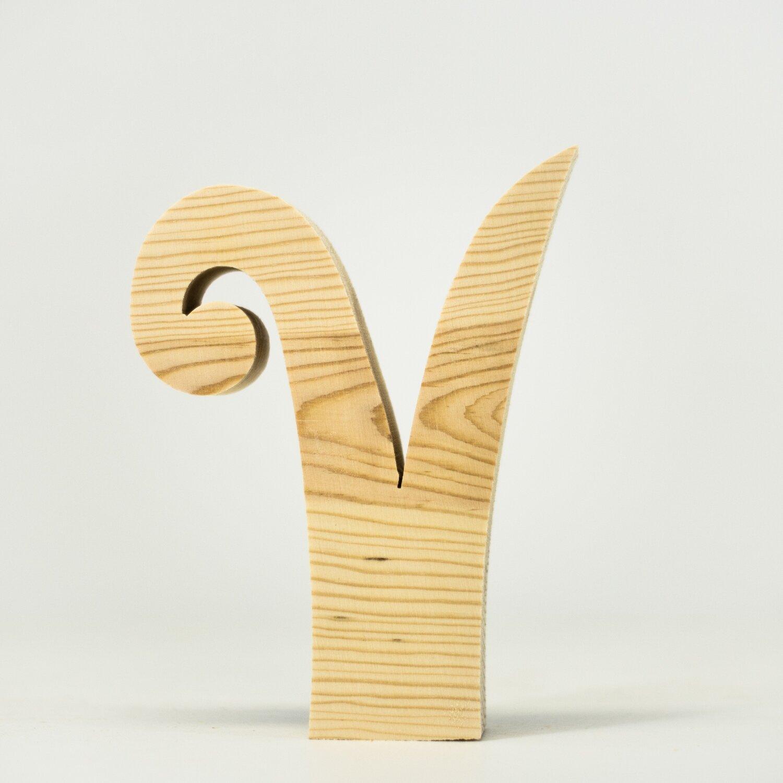 Alphabet - Fancy Lowercase - V