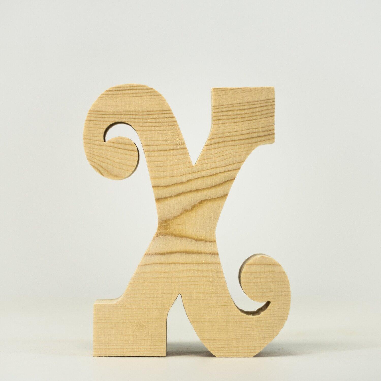 Alphabet - Fancy Lowercase - X