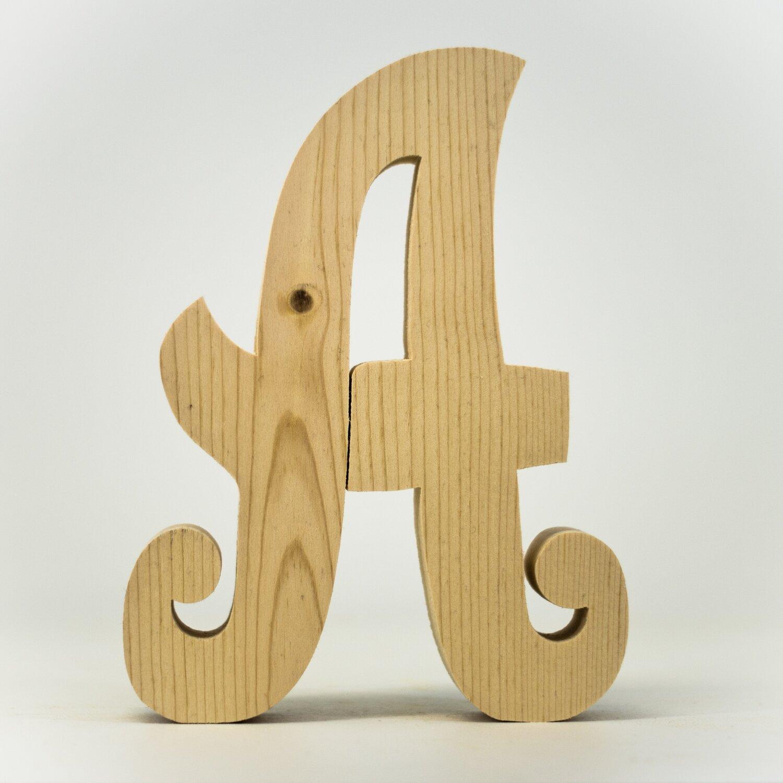 Alphabet - Fancy Uppercase - A