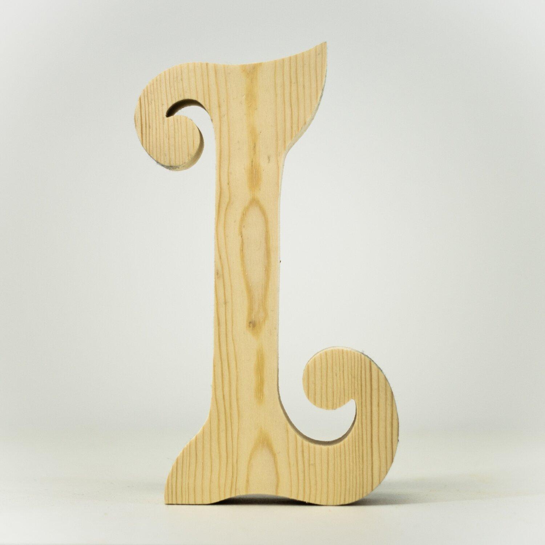 Alphabet - Fancy Uppercase - L