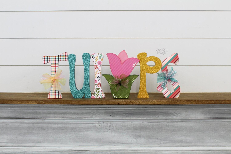 Tulips Word 2019