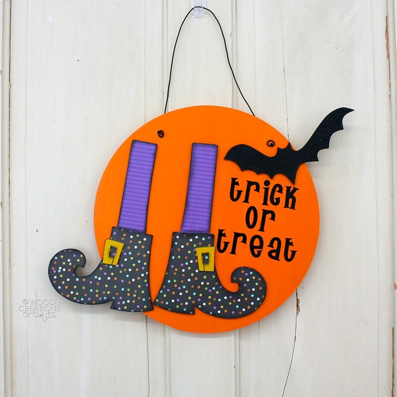 Witch Feet Door Hanger '18