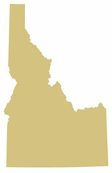 State Cutouts - Idaho