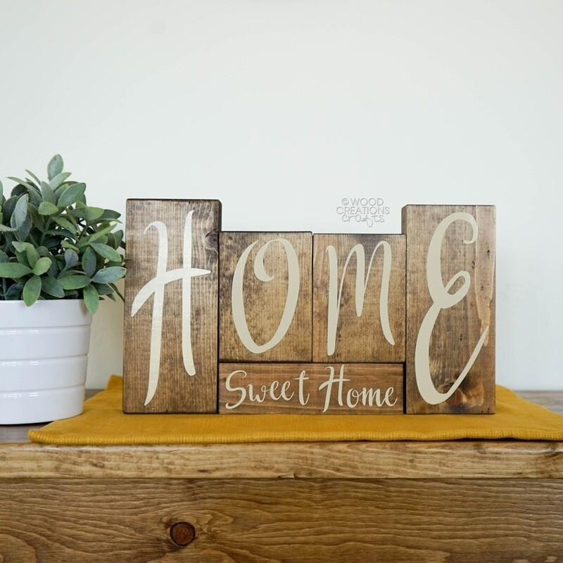 Home Sweet Home Blocks