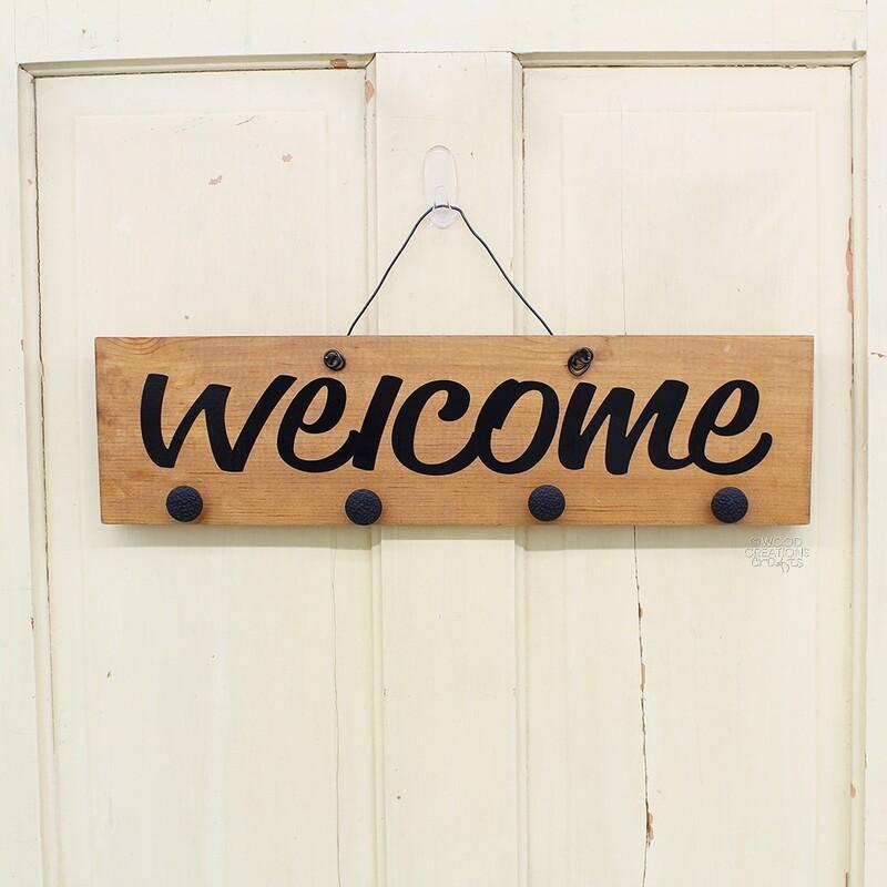 Welcome Dangler Board