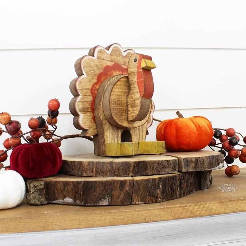 Small Sitting Turkey 2018