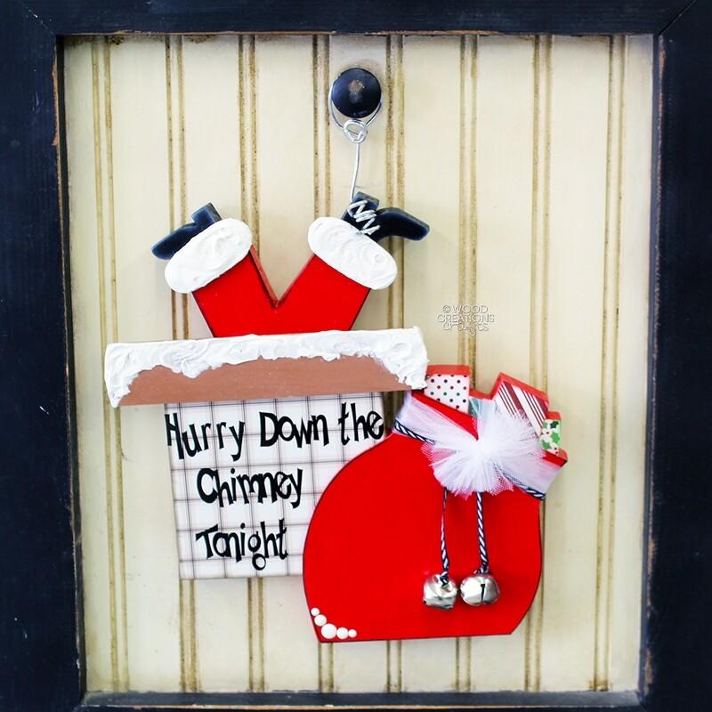 Christmas Chimney - Welcome Post Display 2018