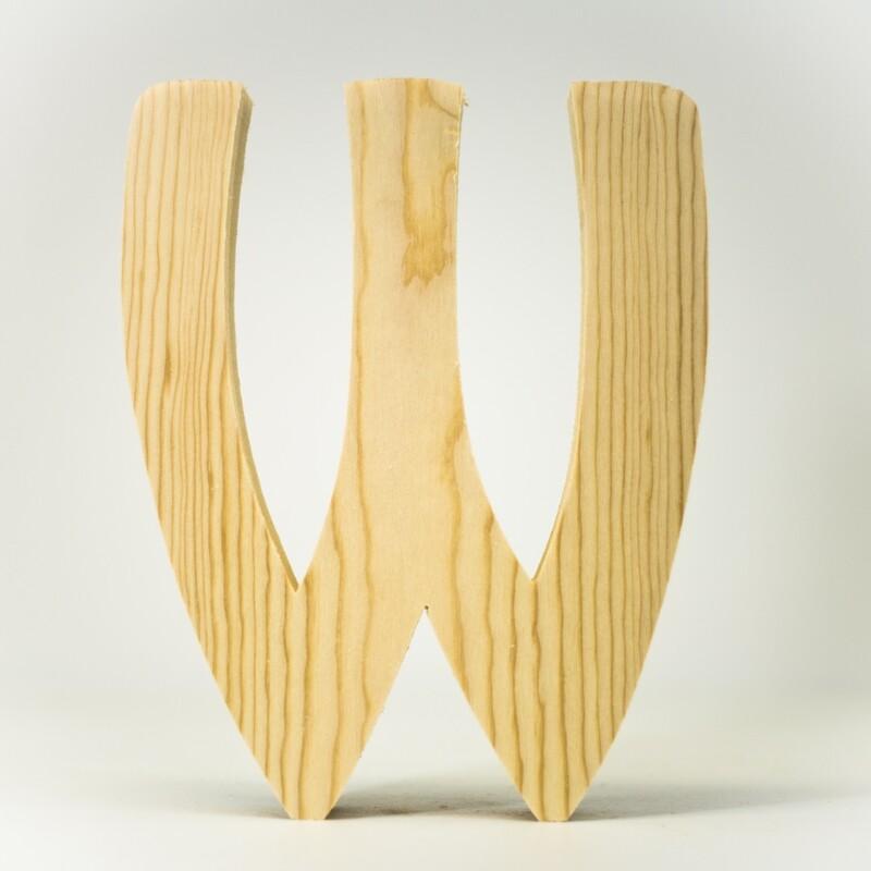 Alphabet - Standard Uppercase - W