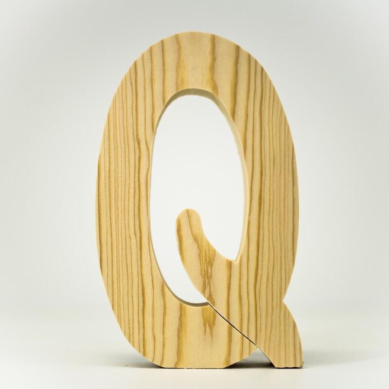 Alphabet - Standard Uppercase - Q