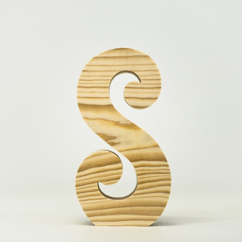 Alphabet - Fancy Lowercase - S
