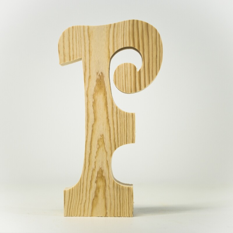 Alphabet - Fancy Uppercase - F