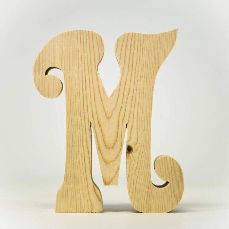 Alphabet - Fancy Uppercase - M