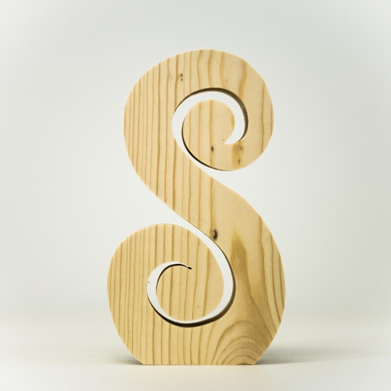 Alphabet - Fancy Uppercase - S