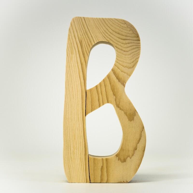 Alphabet - Standard Uppercase - B