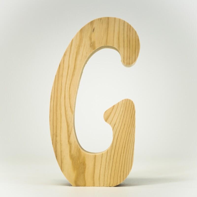 Alphabet - Standard Uppercase - G