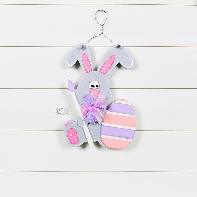Easter Bunny Door Hanger 2019