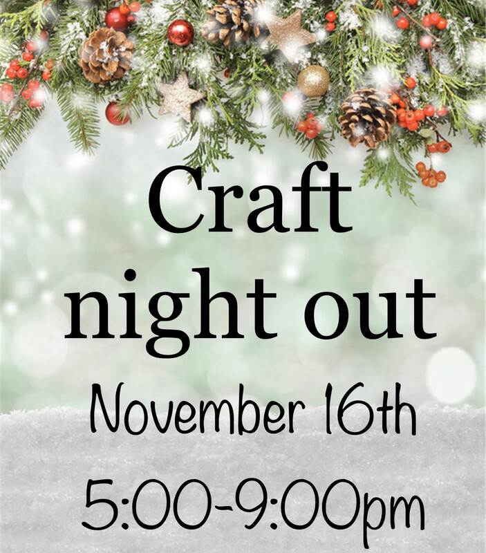 Ladies Night Out - November 16th