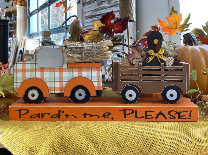Turkey Truck: Pardon Me Please!
