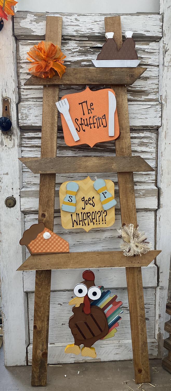 Thanksgiving Ladder Kit
