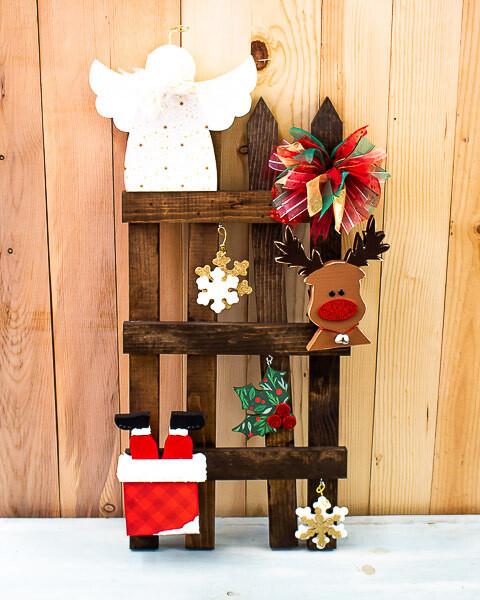 Christmas Fence Kit