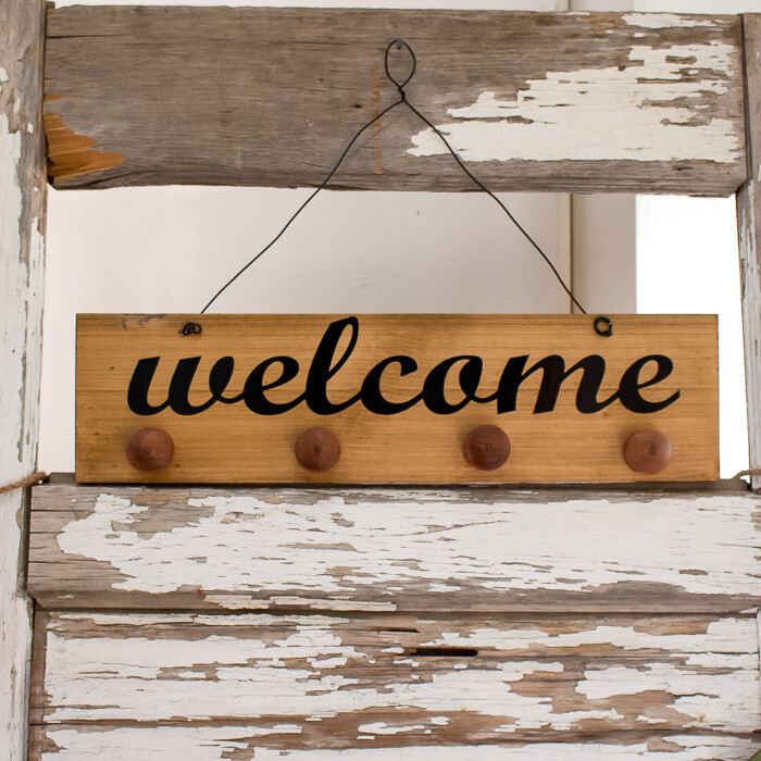 Welcome Dangler Board