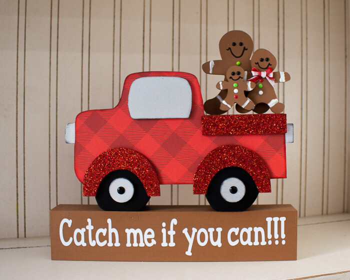Holiday Truck: Gingerbread Family