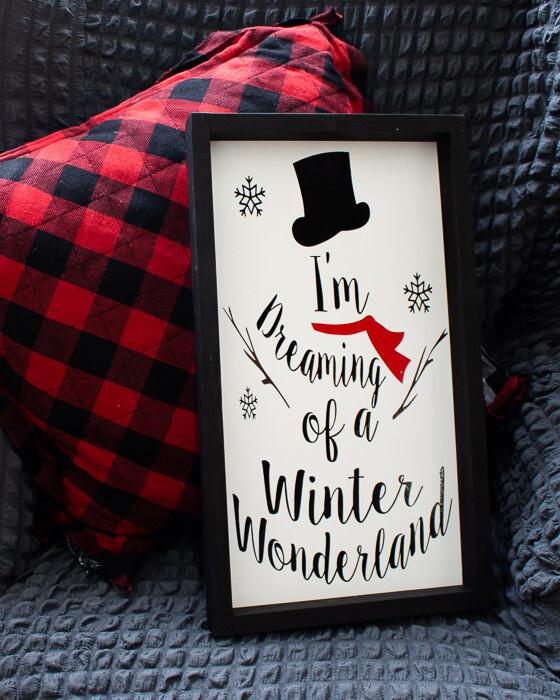 Winter Wonderland Sign