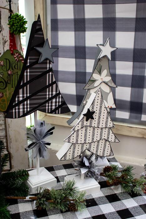 Winter Trees on Dowels