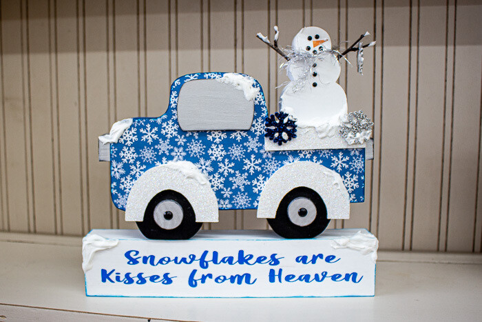 Winter Truck: Snowman